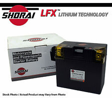 Shorai LFX Lithium Motorcycle Battery BMW R1150GS & Adventure 00-01-02-03-04-05