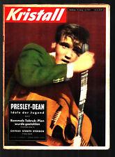 Kristall Nr.4 1957 Elvis Presley, James Dean, Jean Seberg, U-Boote, China