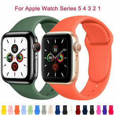 Sports Silicone Band For Apple Watch Series 5 4 3 2 1 IWatch 44mm Strap Bracelet