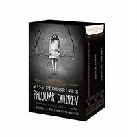 Miss Peregrine's Peculiar Children Boxed Set by Ransom Riggs, NEW Book, (Hardcov
