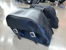 Triumph Leather Saddle Bags
