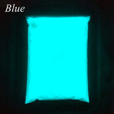 50g Glow in The Dark Acrylic Luminous Powder Bright Pigment Graffiti Party DIY Blue