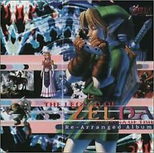 The Legend of Zelda / Ocarina of Time Rearrange Album Soundtrack Japan Import