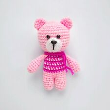 Bear Handmade Amigurumi Stuffed Animal Toy Knitting Crochet Doll