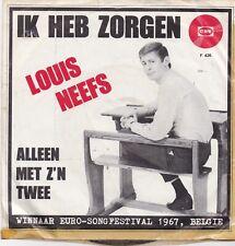Louis Neefs-Ik Heb Zorgen vinyl single  Euro Songfestival 1967