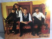 Lady Antebellum Signed 8x10 Photograph All Three Members