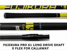 LONG DRIVE Callaway X Stiff 66 FUJIKURA PRO Driver SHAFT-Mavrik,ROGUE,EPIC,FLASH