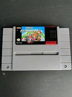 Super Mario Kart (Super Nintendo SNES 1992) Cleaned & Tested - Authentic