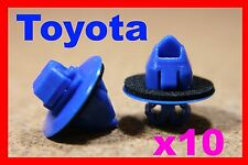 10 toyota land cruiser prado highlander voiture en plastique de moulage clips 72D