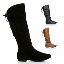 Women's Block Low Heel (0.5-1.5 in.) Zip Slouch Boots Shoes