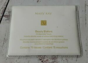 Mary Kay Beauty Blotters ~ Oil Absorbing Tissues ~ 75 Tissues