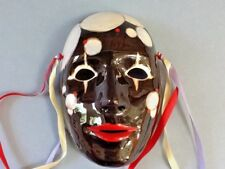 Hand Painted Ceramic Clay Mask