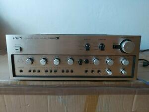 SONY TA-8650 V-FET audio amplifier, works great! 2SK60 2SJ18