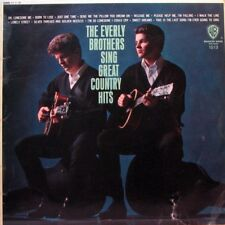 THE EVERLY BROTHERS Sing Great Country Hits LP - UK Mono 1967