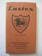 LASTEX – French corsetry related advertising booklet - Paris/ 1930's