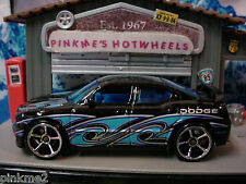 2009 Hot Wheels Dodge Charger SRT8 ~ Negro,Raro oh5 Multi Ex ✿ Loose ✿ con/o Fte