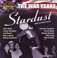 Big Band Classics the War Years: Stardust 2003 by Ex-library . Disc Only/No Case