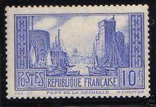 FRANCE 1929-31 Y&T 261b  PORT DE LA ROCHELLE NEUFxx TTB
