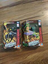 LOT 2 Transformers Studio Series Kingdom Waspinator & Shadow Panther NEW