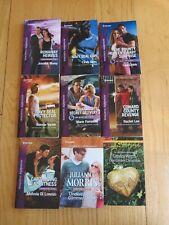 9 Harlequin BOOKS NOVELS Love ROMANTIC SUSPENSE RS
