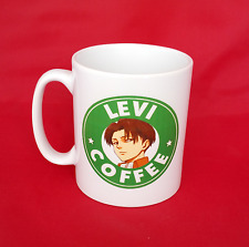 Attack on Titan Levi Ackerman Starbucks Inspired Coffee Mug 10oz