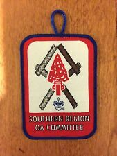 SOUTHERN REGION OA COMMITTEE PATCH - FIRST ISSUE - ONE PER MEMBER