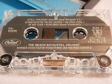 RARE Beach Boys - Still Cruisin' : PROMO ADVANCE TAPE CASSETTE