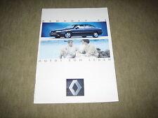 Renault 5, 19, 21, 25, Espace, Alpine Prospekt Brochure 12/1992, 44 Seiten