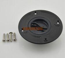 Black Keyless Fuel Gas Cap For Suzuki TL1000R/S SV650 GSXR600/750/1000/1300