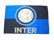 Bandiera Inter  originale nuovo logo ufficiale 70 x 40 cm nerazzurra