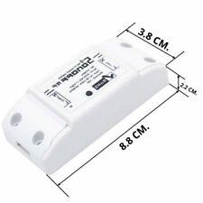 Sonoff Domotica Interruttore Comandato da Smartphone WiF - Bianco