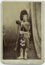 Scottish Soldier & Rifle 19th Century British Army Empire Kilt 6x4 Reprint Photo