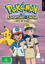 Pokemon - Black & White - Adventures In Unova And Beyond (DVD, 2014, 6-Disc Set)