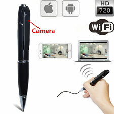 Mini 720P WIFI HD Spy DVR Hidden IP Camera Pen Wireless Digital Video Recorder