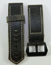 New Panarai 26mm Distressed Leather Strap - Original Panarai Leather Strap OEM