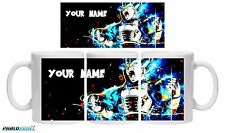 New Vegeta SSJ Blue Dragon Ball Super DBZ coffee mug 11oz Name Gift Birthday