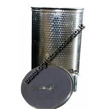 Botte per vino in acciaio inox con galleggiante a olio da 200 litri