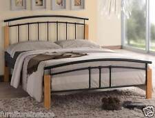 Tetras 4 Size Metal Bed Frame Black OR Silver