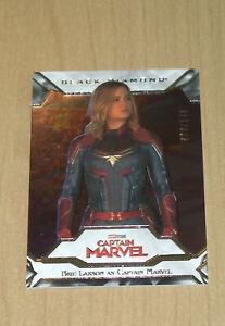 2021 UD Marvel Black Diamond base Brie Larson CAPTAIN MARVEL #86 58/149
