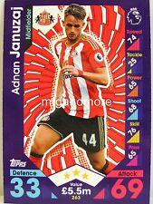 Match Attax 2016/17 Premier League - #263 Adnan Januzaj - Sunderland A.F.C.