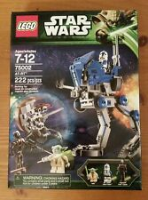 NEW SEALED LEGO Star Wars AT-RT 75002. Yoda + 501st Legion Clone Trooper + Droid