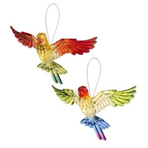Ganz E1 Crystal Expressions 7in Tropical Parrot Ornament ACRY-708 Choose Design