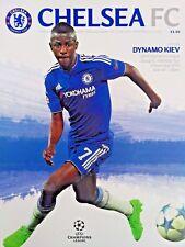 Chelsea v Dynamo Kiev 4/11/2015 Uefa Champions League Group G Matchday 4 MINT