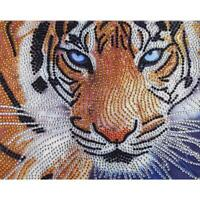 5D DIY Special Shaped Diamond Painting Tiger Cross Stitch Kit Embroidery Decor