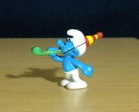 Smurfs 20705 Anniversary Party Smurf Vintage Figure Toy PVC 2007 Peyo Figurine