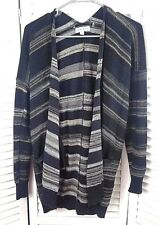 Women's Poof Excellence Sweater Size L Cardigan