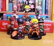 Anime Naruto Sushi Limited Eidition Collection 8pcs Set PVC Figure No Box