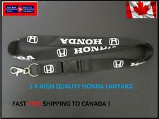 Honda lanyard keychain SHIPPING FROM CANADA CIVIC TYPE R VTEC MUGEN SI CRV JDM