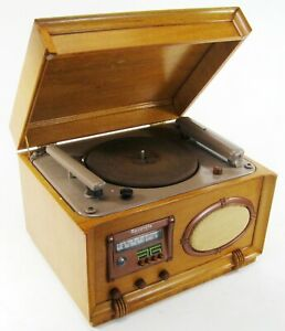 WILCOX-GAY RECORDIO 6B30 RECORD CUTTER TURNTABLE RADIO * BEAUTIFUL