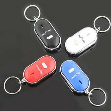Beeping Flashing Anti-Lost Wireless Keyring Keychain Whistle Sound Key Finder